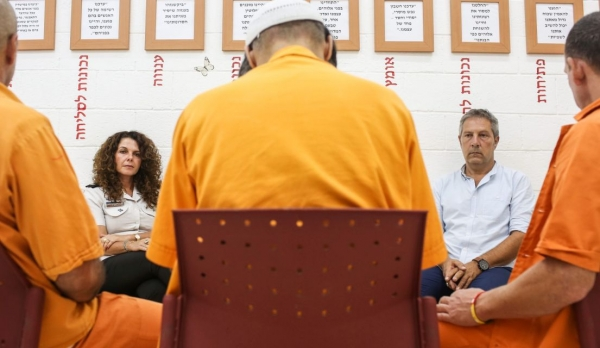 Sexually Abused as Children, Israeli Male Inmates Unlock Traumas in Pioneering Group Therapy